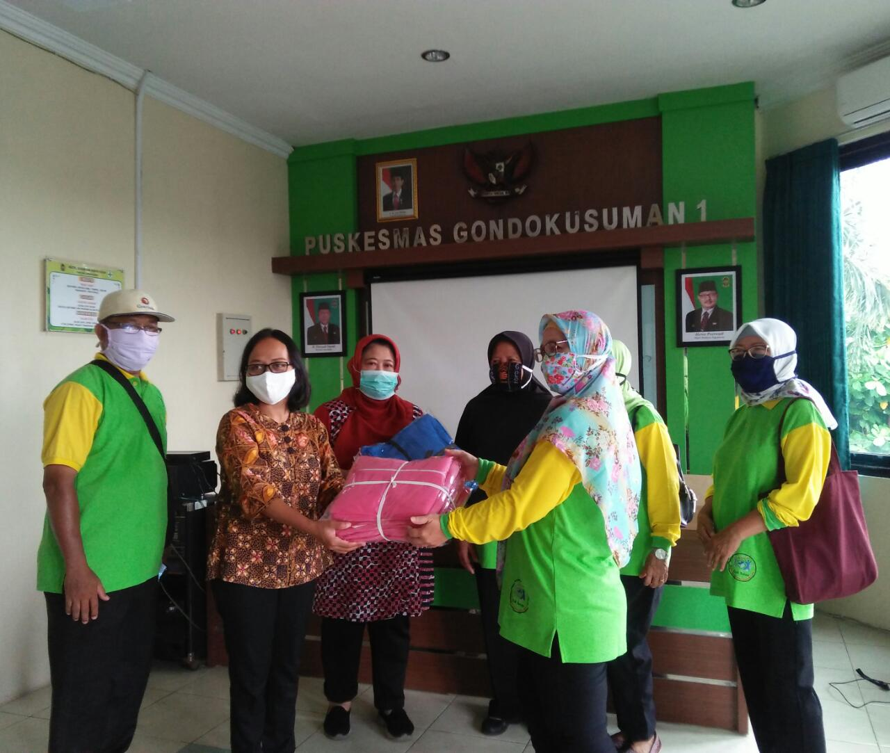 Donasi APD untuk Puskesmas Gondokusuman I